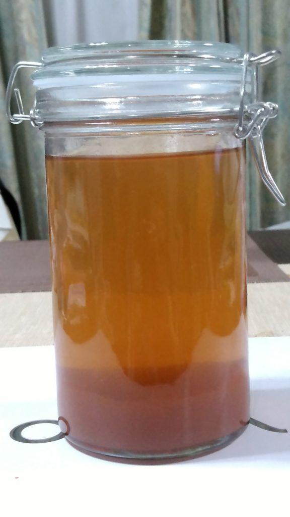 天然塩(海の精)で作る自家製「高級梅干し」の梅酢