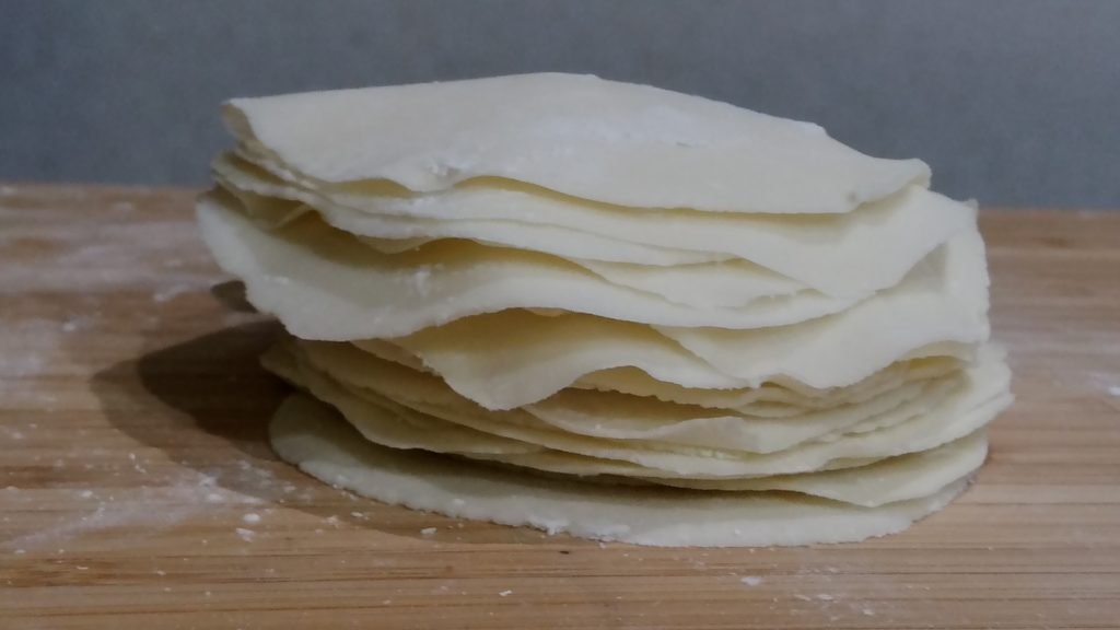 餃子 の 皮 米粉