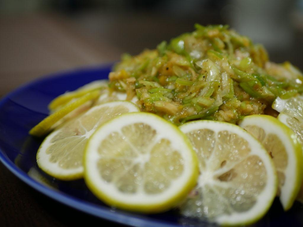 胡麻油香る「鶏肉のレモン蒸し」点心ちゅんせいろのある暮らし