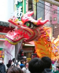 春節 横浜中華街2020