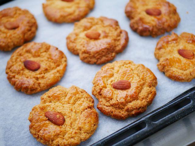 「アンニンスゥ」アーモンドクッキー:点心ちゅん